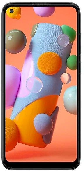 Samsung Galaxy A11 SM-A115FZKDEGY Dual SIM Mobile - 6.4 Inch, 32 GB, 2 GB RAM, 4G LTE - Black