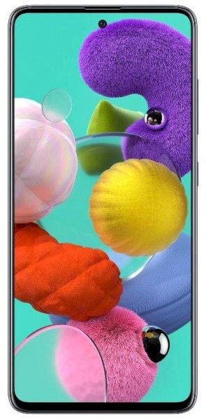 Samsung A515F Galaxy A51, Dual SIM, 128 GB, 6 GB RAM, 4G LTE, 6.5 Inch - Prism Crush Black